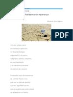43 Martes 30-03-21 Pandemia de Esperanza