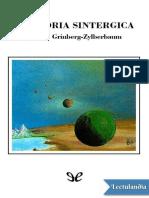 La Teoria Sintergica - Jacobo GrinbergZylberbaum