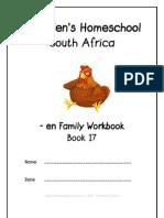 en End-Word Family Workbook, Donnette E Davis, St Aiden's Homeschool, South Africa