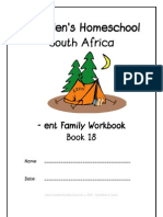 ent End-Word Family Workbook, Donnette E Davis, St Aiden's Homeschool, South Africa