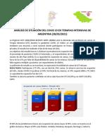 Ocupacion de Camas de Uti Argentina 28 de Mayo 2021