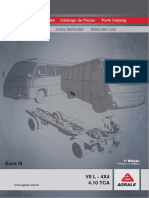 VOLARE V8 L - 4X4 - 4.10 TCA - EURO III - 1ª EDIÇÃO