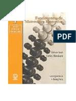 Fundamentos de Matematica Elementar Vol 01 Conjuntos E Funcoes