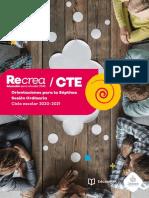 Orientaciones 7ma CTE 2020-2021