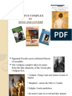 oedipus complex in sons and lovers