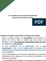 Cours REI- Dotations Factorielles