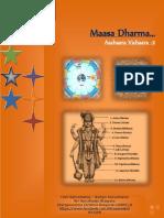 NICETIES OF SANATANA MAASA DHARMA