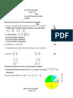 test fractii ordinare 2 numere