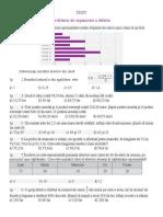test fractii zecimale metode aritmetice