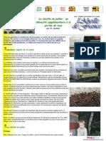 EBOOK - APICULTURE - LA RECOLTE DU POLLEN - APISERVICES.COM - 5P