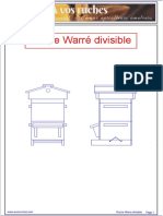 eBook - Apiculture - Plan Ruche Ware Divisible - Fr