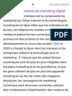 histoire et l'evolution du marketing digital