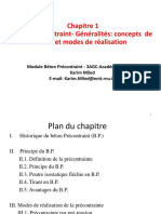 Chapitre 1 Beton Precontraint-Generalite
