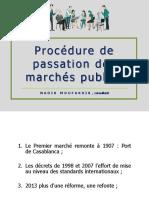 Procedures de Passation - Nadir Moufakkir Consultant