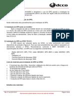 Tutorial de Instalação do DPS_REV01