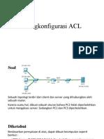 Mengkonfigurasi ACL