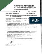 Calabar Port Update Post Privatization Monitoring