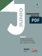 Programación MUSAC junio 2021