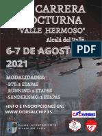 Normativa II Carrera Nocturna Valle Hermoso
