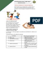CLASE 1 III U CONOZCA NUEVAS FORMAS DE CUIDADO PERSONAL