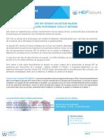 Communiqué de Presse - HEF Groupe