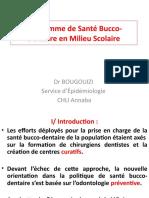 Programme de Santé Bucco-Dentaire en Milieu Scolaire