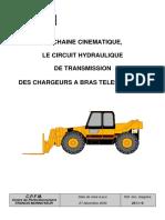 La Chaine Cinematique, Le Circuit Hydraulique de Transmission Des Chargeurs a Bras Telescopique