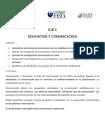 eje 2 COMUNICACION Y EDUCACIÓN