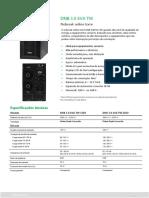 DNB 3.0 kVA TW - Datasheet