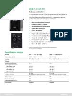 DNB 1.5 kVA TW - Datasheet