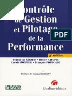 Contrôle de Gestion Et Pilotage de La Performance ( PDFDrive )