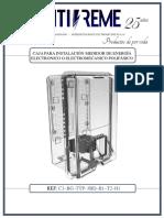 FICHA TECNICA  CAJA TFRANSPARENTE EMTI-REME Ref C3-BG-TTP-3BD-B1-T2-H1