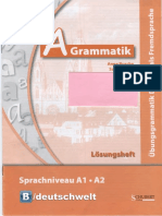 A Grammatik Uebungsgrammatik Loesung