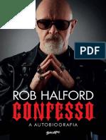 Confesso, A Autobiografia - Rob Halford