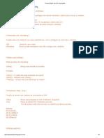 Cadastro de Funções ADVPL