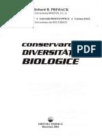 Conservarea diversitatii biologice