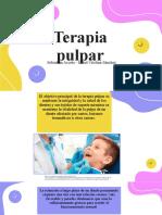 terapia pulpar, niño, 2021
