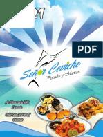 Señor Ceviche Pescados Y Mariscos Carta 2021