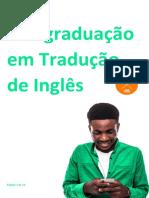 Pós-graduação Em Tradução de Inglês