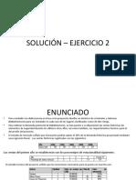 Solución Ejercicio 2 ET