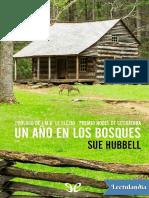 Hubbell Sue, Un año en los bosques