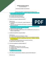 Primer Examen Parcial de Economia II