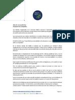 2021-06-01 - Carta Al Presidente