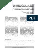 MARQUES (2018) Arquivos e Arquivologia Na França e No Brasil