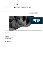 THE TEF BUSINESS SUMMARY TEMPLATE 22 (FRENCH)