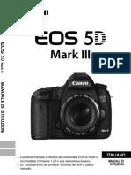 EOS 5D Mark III Instruction Manual IT