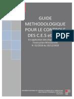 Guide méthodologique Contrôle des CES et CET