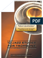 10 Jazz Etudes for Trombone