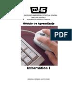 Informatica 1 Libro de apoyo docente ( México DGB SEP)