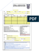 Misconduct Report Form